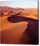2a6856-sunrise On Death Valley Canvas Print