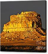 Sunrise On Fajada Butte Canvas Print