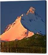 1m5306-sunrise On Mt. Washington Canvas Print