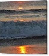Sunrise On The Atlantic 2 Canvas Print