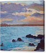 Sunrise On The Grotto Canvas Print