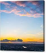 Sunrise On The Horizon Canvas Print