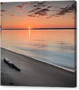 Sunrise On The Potomac Canvas Print