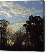 Sunrise On The River Canvas Print