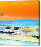 Sunrise On Tybee Island - Photopower 168 Canvas Print