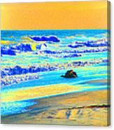 Sunrise On Tybee Island - Photopower 169 Canvas Print
