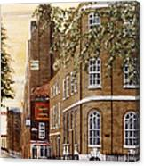 Sunrise On Wapping High Street London Canvas Print