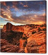 Sunrise Over Canyonlands Canvas Print