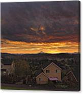 Sunrise Over Happy Valley Canvas Print