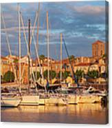Sunrise Over La Ciotat France Canvas Print