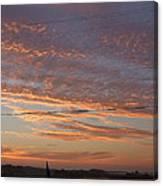 Sunrise Over Lake Manistee Canvas Print