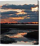 Sunrise Over Point Pelee Provincial Park Canvas Print