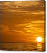 Sunrise Over The Sea Of Cortez Canvas Print