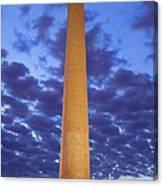 Sunrise Over Washington Monument Canvas Print