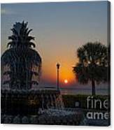 Lowcountry Pineapple Canvas Print