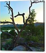 Sunrise Prescott Arizona Canvas Print