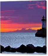 Sunrise Sailing Canvas Print