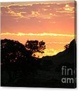 Sunrise Scenery Canvas Print