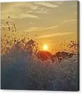 Sunrise Splash 1 9/05 Canvas Print