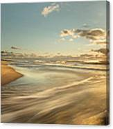 Sunrise Surf Canvas Print