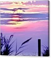 Sunrise Through The Dunes Canvas Print