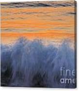 Sunrise Wave Canvas Print