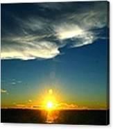 Sunset @ Chesapeake Bay-2 Canvas Print