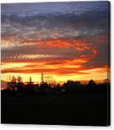 Sunset 02 28 13 Canvas Print