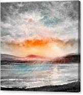 Sunset 111 Canvas Print