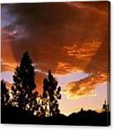Bitterroot Valley Sunset Canvas Print