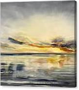 Sunset 384 Panoramic Canvas Print