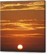 Sunset 501 Canvas Print