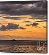 Romantic Sunset Adventure Canvas Print