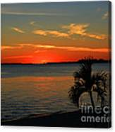 Sunset Afterglow Canvas Print