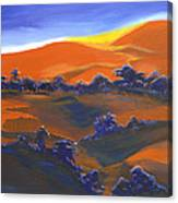 Sunset And Shadow Canvas Print