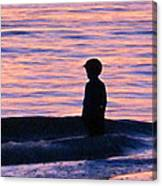 Sunset Art - Contemplation Canvas Print