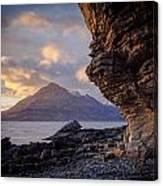 Sunset At Algoll Scotland Canvas Print