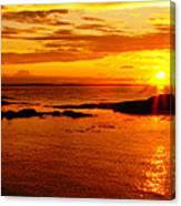 Sunset At Bic Canvas Print