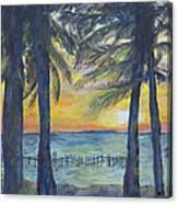 Sunset At Buho's Canvas Print