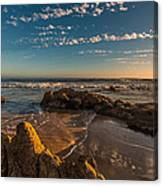 Sunset At Crystal Cove 12 Canvas Print