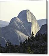 Sunset At Half Dome From Olmsted Pt Canvas Print