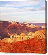 Sunset At Mather Point Grand Canyon Canvas Print