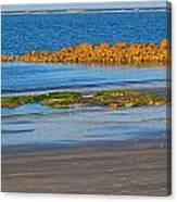 Sunset At Morris Island Sc Canvas Print