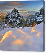 Sunset At Sierra Nevada Canvas Print