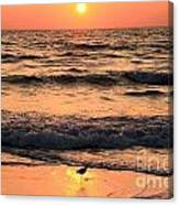 Sunset At St. Joseph Canvas Print