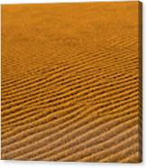 Sunset At The Great Sand Dunes National Canvas Print