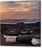 Sunset At The Tidepools IIi Canvas Print
