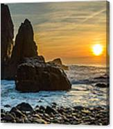Sunset At The World's End II Canvas Print