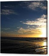 Sunset At Westport Beach Canvas Print