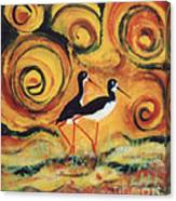 Sunset Ballet Canvas Print